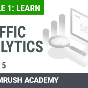 How to Analyze Your Site Traffic With the Traffic Analytics Report | Lesson 5/14 | SEMrush Academy