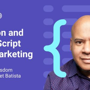 Power up your marketing workflows with Python and JavaScript by Hamlet Batista
