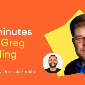 60 Minutes with Greg Sterling