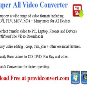 any video converter for free youtube