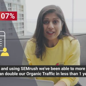 Australia's largest university doubled its Organic Traffic with SEMrush