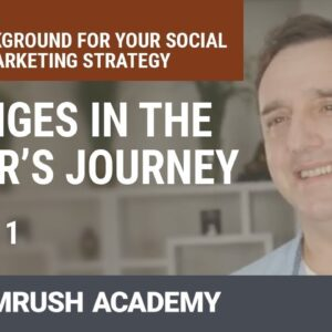 Changes in the Buyer's Journey | Lesson 1/27 | SEMrush Academy