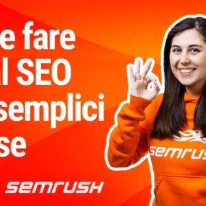 Come fare Local SEO in 3 step - #SEMrushRisponde