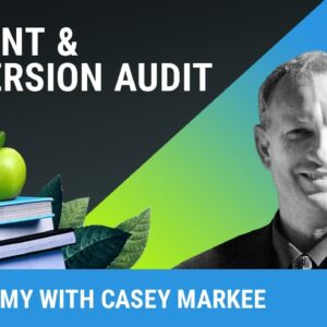 Content and Conversion Audits for Wordpress Bloggers