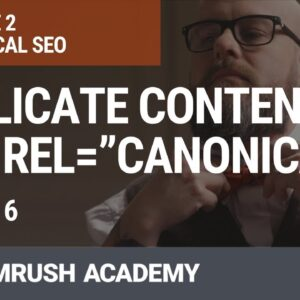 "Duplicate Content and Rel=""Canonical"" 