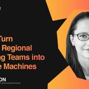 How to Turn Small or Regional Marketing Teams Into Revenue Machines |  Ljubica Radoicic, Hexagon