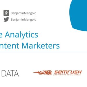 Google Analytics for Content Marketers