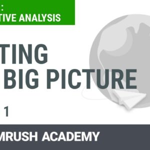 How to Carry Out a Competitive Analysis | Lesson 1/8 | SEMrush Academy