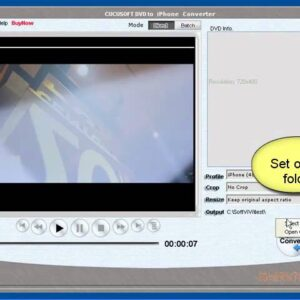 How to convert DVD to iPhone---Cucusoft DVD to iPhone Converter