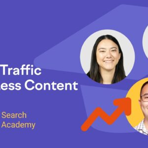 How to Grow Organic Traffic with Less Content