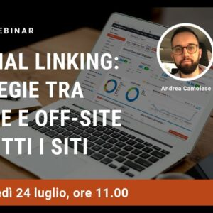Internal linking tra on-site e off-site