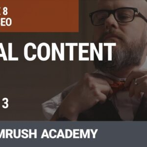 Local Content | Lesson 30/31 | SEMrush Academy