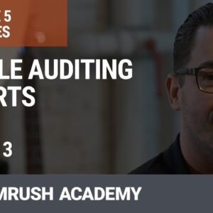 Log File Auditing Reports | Lesson 21/34 | SEMrush Academy
