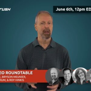 Mobile SEO roundtable w/ Eric Enge( announcement)