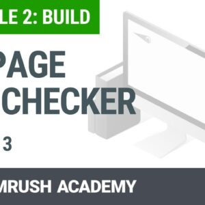 Module 2. Lesson 3. On Page SEO Checker