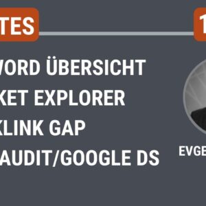 SEMrush-Updates KW 17: Backlink GAP, Keyword Übersicht u.v.m.