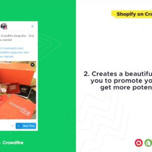 Shopify on Crowdfire