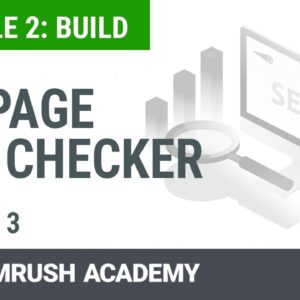 How to Increase Your Rankings With the On Page SEO Checker | Lesson 9/14 | SEMrush Academy