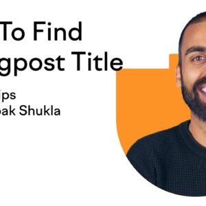 How To Find The Perfect Blogpost Title