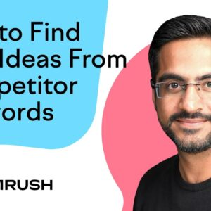 How to Find New Ranking Opportunities From a Competitor's Keywords