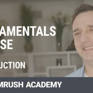 SMM Fundamentals Course with Neal Schaffer | Introduction | SEMrush Academy