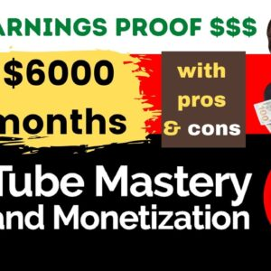 Tube Mastery and Monetization by matt par Review - Scam, Legit, Still work in 2021