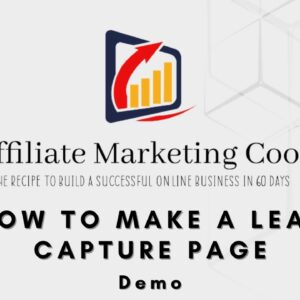 How To Make A Lead Capture Page 📌 How To Make A Lead Capture Page Demo 📌📌📌
