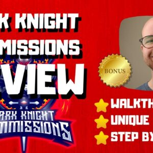 Dark Knight Commissions Review - 🚫WAIT🚫DON'T BUY DKC WITHOUT MY BONUSES 🔥