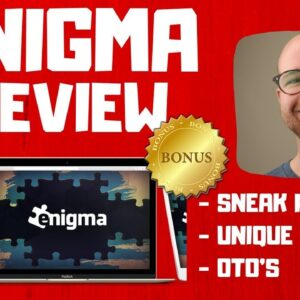 Enigma Review - 🚫WAIT🚫DON'T BUY ENIGMA WITHOUT MY BONUSES ✅