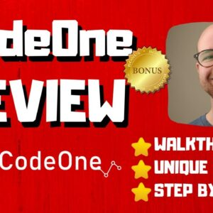 Code One Review - 🚫WAIT🚫DON'T BUY CODE ONE WITHOUT MY BONUSES 🔥