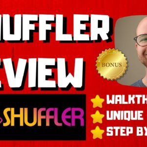 Shuffler Review - 🚫WAIT🚫DON'T BUY SHUFFLER WITHOUT MY BONUSES 🔥