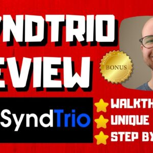 SyndTrio Review - 🚫WAIT🚫DON'T BUY SYNDTRIO WITHOUT MY BONUSES 🔥
