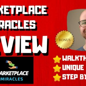 Marketplace Miracles Review - 🚫WAIT🚫DON'T BUY MARKETPLACE MIRACLES WITHOUT MY BONUSES 🔥
