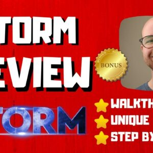 Storm Review - 🚫WAIT🚫DON'T BUY STORM WITHOUT MY BONUSES 🔥