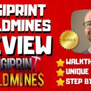 DigiPrint Goldmines Review - 🚫WAIT🚫DON'T BUY DIGIPRINT WITHOUT MY BONUSES 🔥