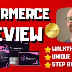 Stormerce Review - 🚫WAIT🚫DON'T BUY STORMERCE WITHOUT MY BONUSES 🔥