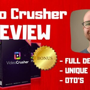 Video Crusher Review - 🚫WAIT🚫DON'T BUY VIDEOCRUSHER WITHOUT MY BONUSES ✅