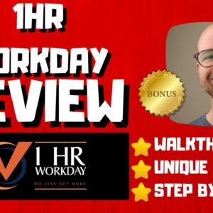 1HR Workday Review - 🚫WAIT🚫DON'T BUY 1HR WORKDAY WITHOUT MY BONUSES 🔥