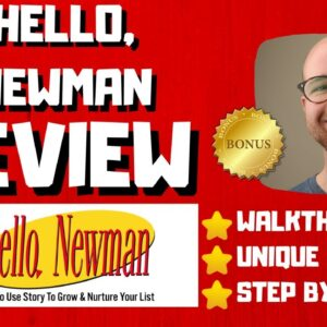 Hello, Newman Review - 🚫WAIT🚫DON'T BUY HELLO, NEWMAN WITHOUT MY BONUSES 🔥