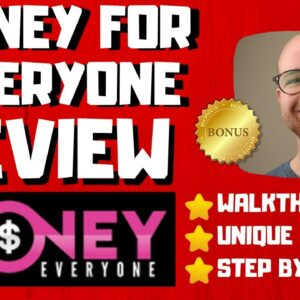 Money For Everyone Review - 🚫WAIT🚫DON'T BUY WITHOUT WATCHING THIS DEMO FIRST🔥