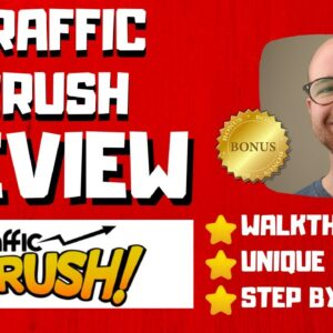 Traffic Crush Review - 🚫WAIT🚫DON'T BUY WITHOUT WATCHING THIS DEMO FIRST🔥