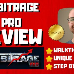 Arbitrage Pro Review - 🚫WAIT🚫DON'T BUY WITHOUT WATCHING THIS DEMO FIRST🔥