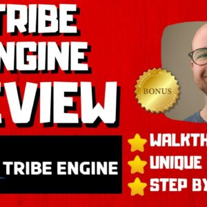 Tribe Engine Review - 🚫WAIT🚫DON'T BUY WITHOUT WATCHING THIS DEMO FIRST🔥