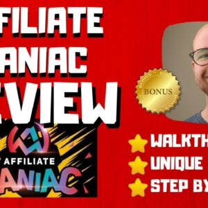 Affiliate Maniac Review - 🚫WAIT🚫DON'T BUY WITHOUT WATCHING THIS DEMO FIRST🔥