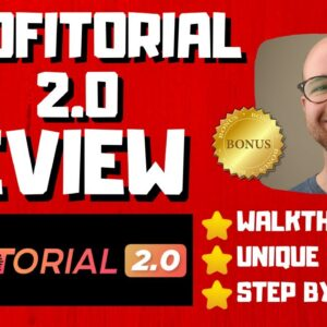 Profitorial 2 0 Review - 🚫WAIT🚫DON'T BUY WITHOUT WATCHING THIS DEMO FIRST🔥