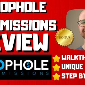 Loophole Commissions Review - 🚫WAIT🚫DON'T BUY WITHOUT WATCHING THIS DEMO FIRST🔥