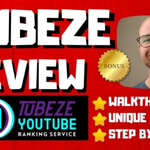 Tubeze Review - 🚫WAIT🚫DON'T BUY WITHOUT WATCHING THIS DEMO FIRST🔥
