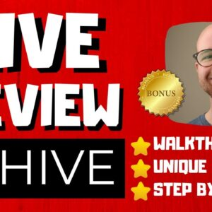Hive Review - 🚫WAIT🚫DON'T BUY WITHOUT WATCHING THIS DEMO FIRST🔥
