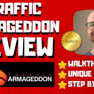 Traffic Armageddon Review - 🚫WAIT🚫DON'T BUY WITHOUT WATCHING THIS DEMO FIRST🔥