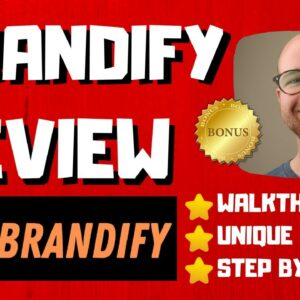 Brandify Review - 🚫WAIT🚫DON'T BUY WITHOUT WATCHING THIS DEMO FIRST🔥